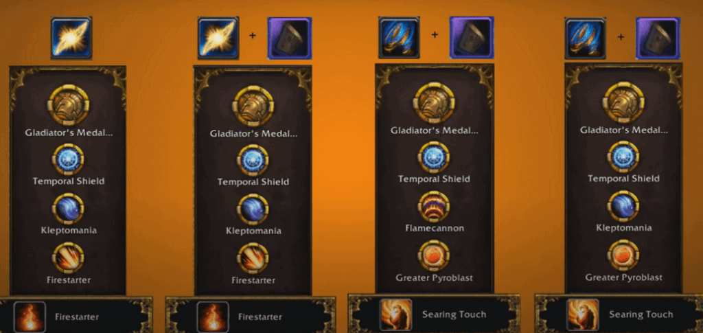 Fire Mage Talents