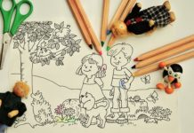 Baby coloring and comprehensive development opportunities